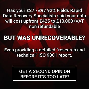 If your hard drive was declared unrecoverable, get a second opinion