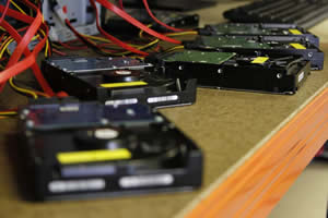 Broken hard disk repair