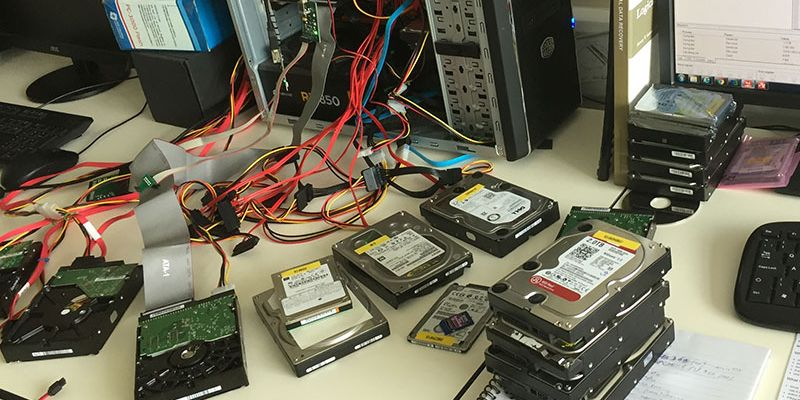 hard drive data recovery specialists in the UK