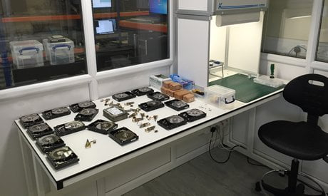 Quick look at Secure House data recovery lab